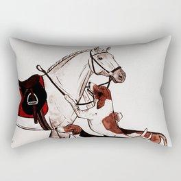 HORSE & FOXHOUNDS Rectangular Pillow