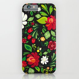 Russian folk iPhone Case