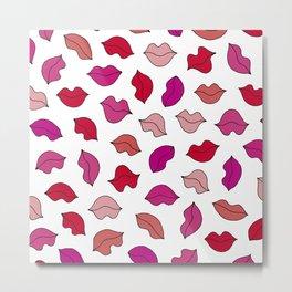 lovely lips♡ Metal Print