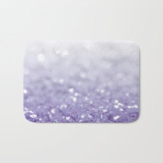 MERMAIDIANS PURPLE GLITTER Bath Mat