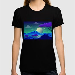 The View On Saturn T-shirt