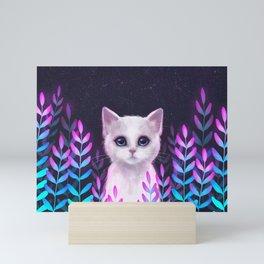 Glowy Foliage Mini Art Print