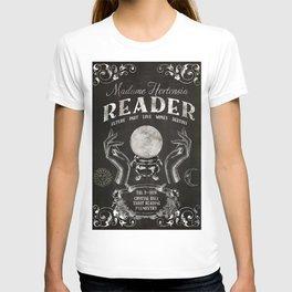 Gypsy Crystal Ball Reader Sign T-shirt