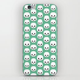 Cute skulls iPhone Skin