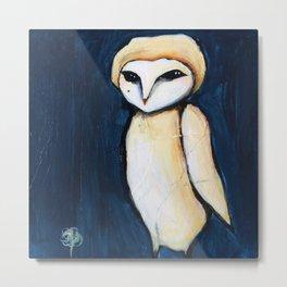 Soft Owl Metal Print