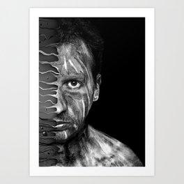 selfportrait ! Art Print
