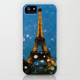 Eiffel Tower by Lika Ramai iPhone Case