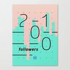 2100 Canvas Print