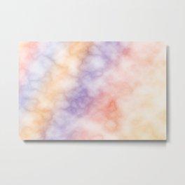 Rainbow marble texture 1 Metal Print
