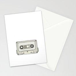 Mixtape Babe (Grey) Stationery Cards