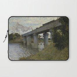 The Railroad bridge in Argenteuil Laptop Sleeve