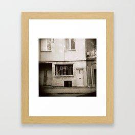 Montreal Bar with Holga Framed Art Print