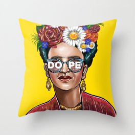 Something Dope Revised Throw Pillow