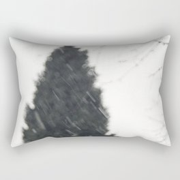 The bleak winter Rectangular Pillow