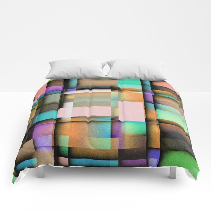 Geometric. Comforters