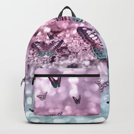 Pastel Unicorn Butterfly Glitter Dream #2 #shiny #decor #art #society6 Backpack