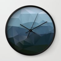 Wall Clocks featuring True at First Light by Three of the Possessed