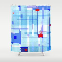A Tribute to Brazilian Neoconcretists Shower Curtain