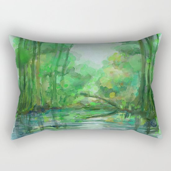 Lost in colors Rectangular Pillow