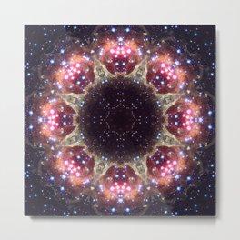 Space Mandala no6 Metal Print