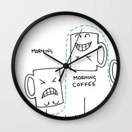 The Coffee Cycle Wall Clock