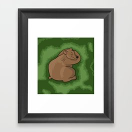 Hibernation Framed Art Print
