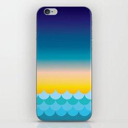 Sunset at Sea iPhone Skin