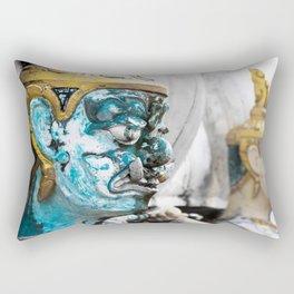 Buddhist Temple Demon Rectangular Pillow
