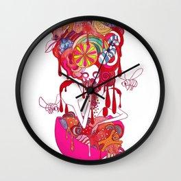 Seven Deadly Sins 'Gluttony' Wall Clock