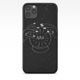 Nah future - crystal ball iPhone Case