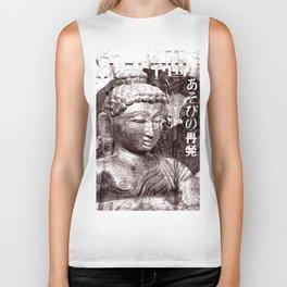 Buddha mit Fächer Biker Tank