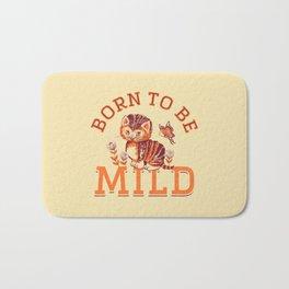 Born to be Mild (Orange Tabby) Bath Mat