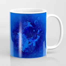 Fish Illustration (Goldfish) Coffee Mug