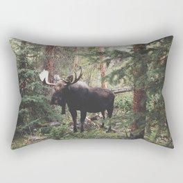 The Modest Moose Rectangular Pillow