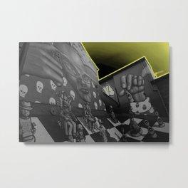 Hip hop Chess Wall Metal Print