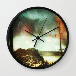 Orbitals in the Sky Wall Clock