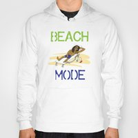 depeche mode Hoodies featuring Beach Mode by Shimeez