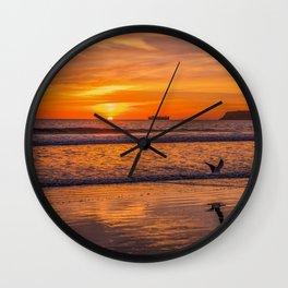 Coronado Sunset Wall Clock