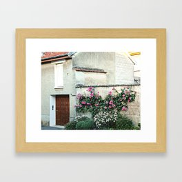 A House in the Tiny Village of Chamery, France Framed Art Print