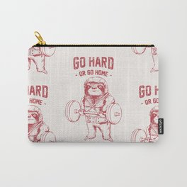 Go Hard or Go Home Sloth Carry-All Pouch