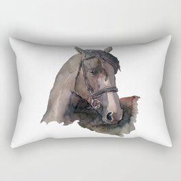 Horse #4 Rectangular Pillow