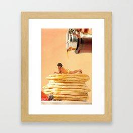 Lather me up Framed Art Print