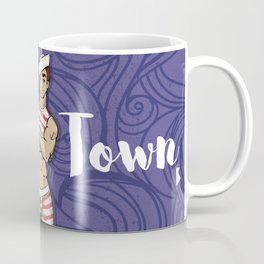Gay sailor, New in town Coffee Mug