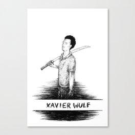 Xavier Wulf Canvas Print