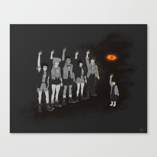 One ring ruins the group Canvas Print