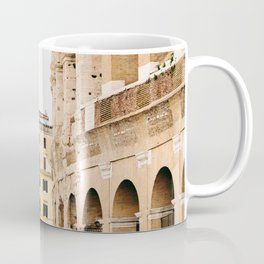 Colosseum - Rome Italy Architecture, Travel Photography Coffee Mug