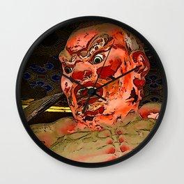 Demon Guardian Wall Clock