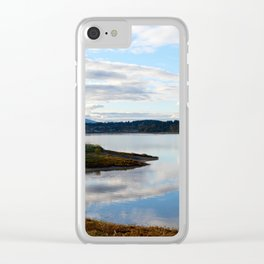 Goose spit Clear iPhone Case