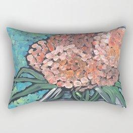 Orange Bloosoms Rectangular Pillow