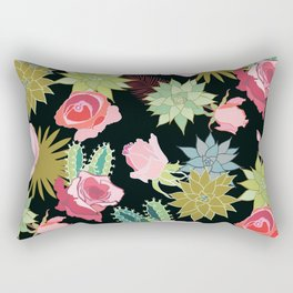 California Rose Garden Rectangular Pillow